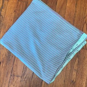 Lululemon vinyasa infinity scarf snaps mint grey